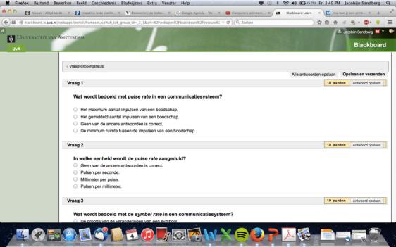 "Figuur 2: Screenshot ""test jezelf"" vragen"