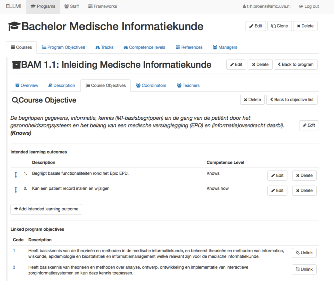 Bachelor Medische Informatiekunde